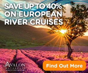 2017 Wave Season Cruise Special: Avalon 40% off Europe River Cruises